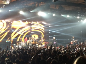Red Hot Chilip Peppers live at The Chelsea Ballroom at the Cosmopolitan Las Vegas on NYE 2012