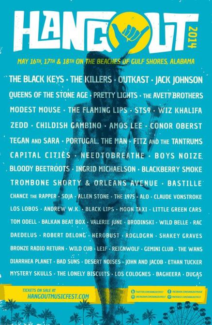 Hangout Festival Lineup